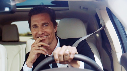 The Lincoln Motor Company announced today a multi-year collaboration with Academy Award™-winner Matthew McConaughey, who will act as a storyteller in a series of upcoming TV and digital campaigns starting with the first-ever 2015 Lincoln MKC small premium utility.